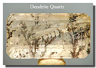 Dendrite Quartz Gemstone