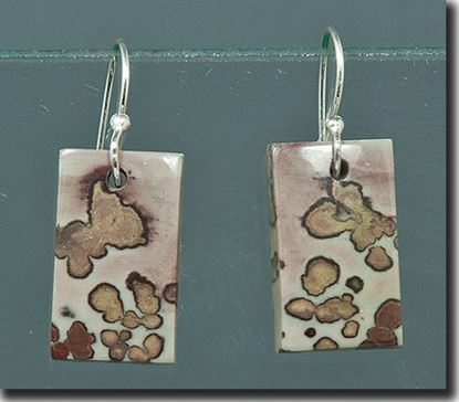 Coffee Bean Jasper Earrings