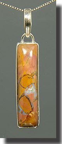 Stone Canyon Silver Pendant