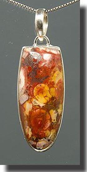 Ochoco Rhyolite Silver Pendant