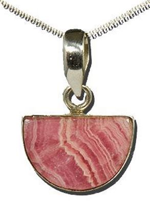 Pink Rhodocrosite Pendant