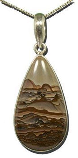 Biggs Picture Jasper Silver Pendant