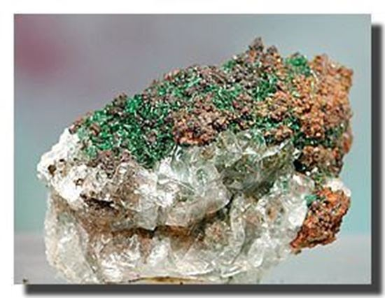 Crystalline Malachite Specimen, Mexico