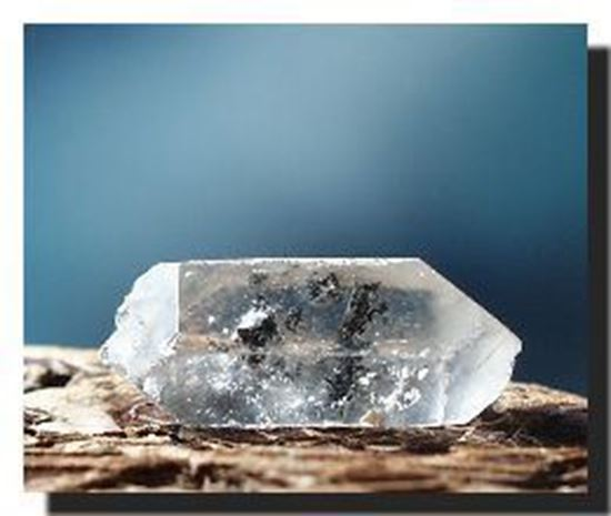 Quartz Crystal included with Black Schorl