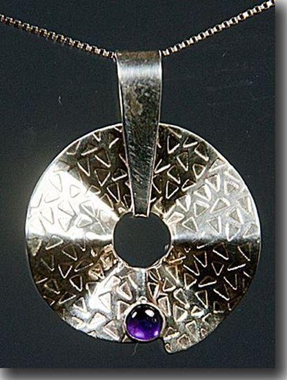 Silver Amethyst Pendant