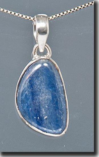 Kyanite Silver Pendant