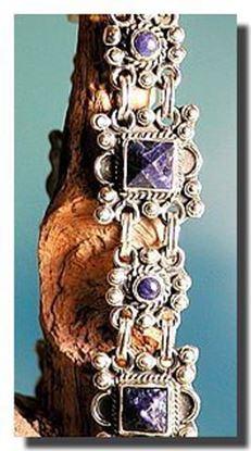 Sodalite Silver Bracelet