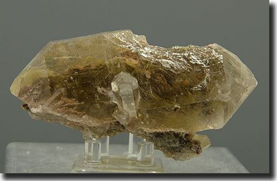 Rutilated Smoke Quartz Crystal