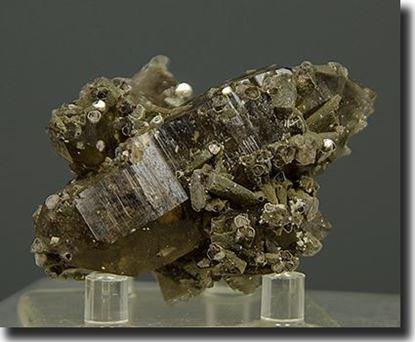 Lepidolite Mica and Smoke Quartz