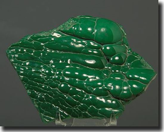 Polished Malachite Bubbles