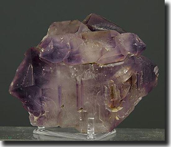 Tabular Amethyst Crystal Africa