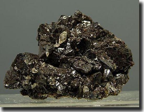 Sphalerite & Scalenohedron Calcite Crystals