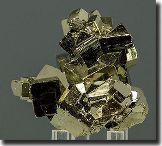 Side A Iron Pyrite Cubes Peru
