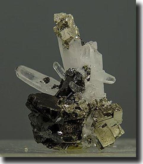 Iron Pyrite Sphalerite & Quartz Peru