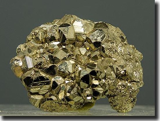 Iron Pyrite Crystals Peru
