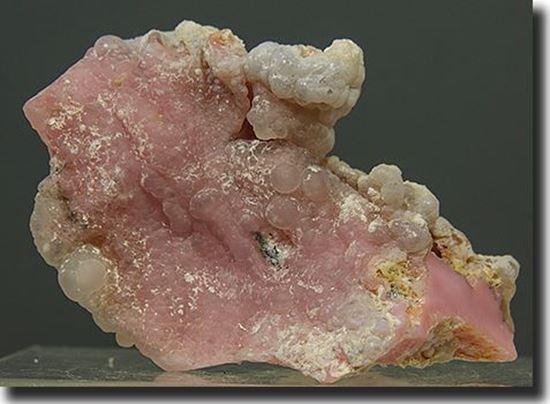 Pink Opal in Chalcedony