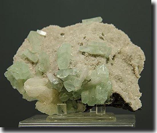 Fluorapophyllite Crystals