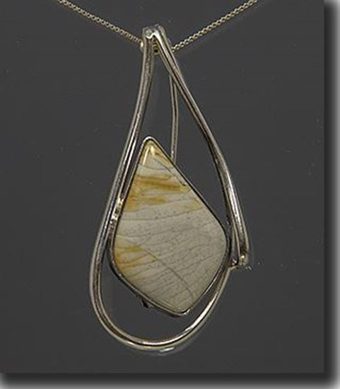 Willow Creek Jasper Fashion Pin