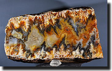 Graveyard Point plume agate